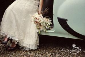 robe mariée vintage dentelle