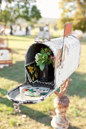 boîte aux lettres mariage