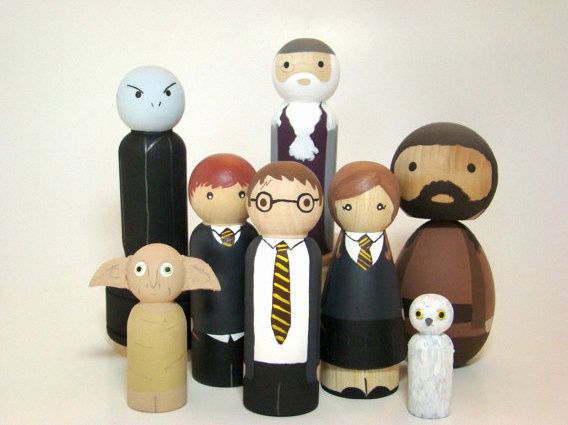 figurine harry potter