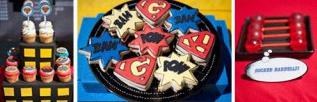 anniversaire super héros comics