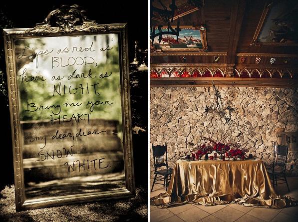 Un mariage blanche neige et le chasseur - Miroir de blanche neige ...
