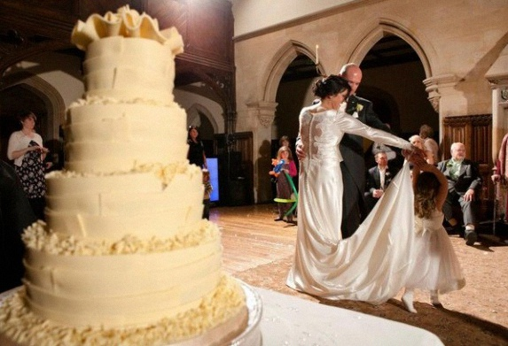 gâteau de mariage twilight