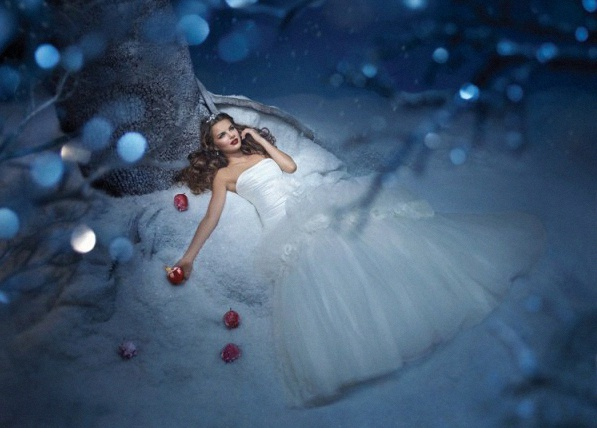 robe de mariée blanche neige