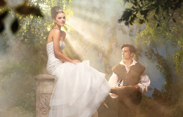 robe de mariée cendrillon