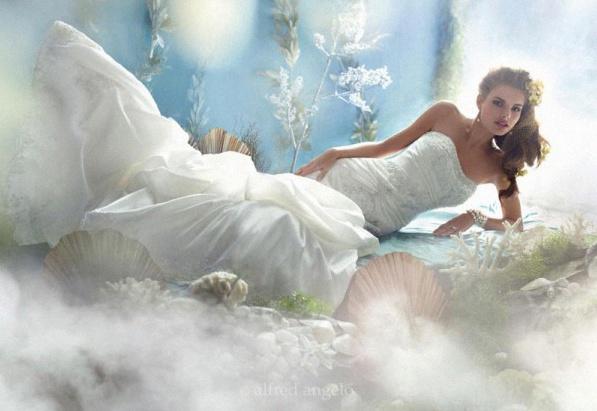 robe de mariée la petite sirène