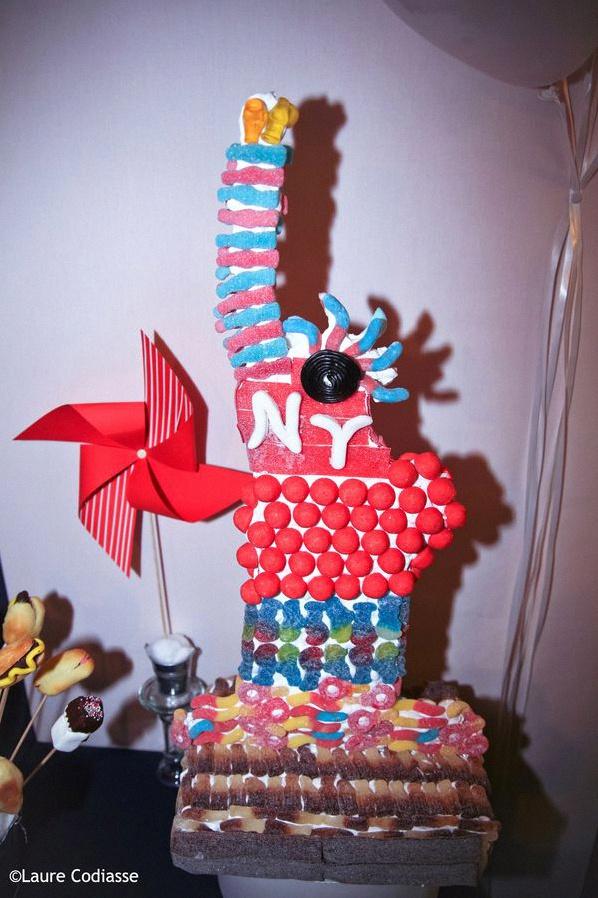sweet table états-unis anniversaire