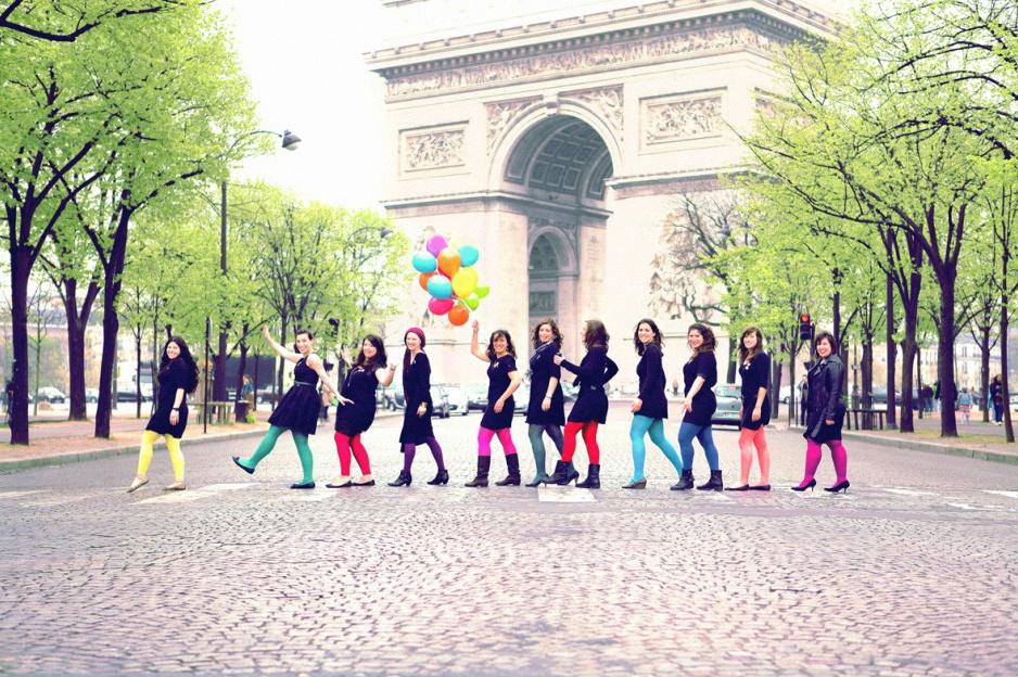 Populaire Enterrement de vie de jeune fille paris original - Idée de soirée KA39
