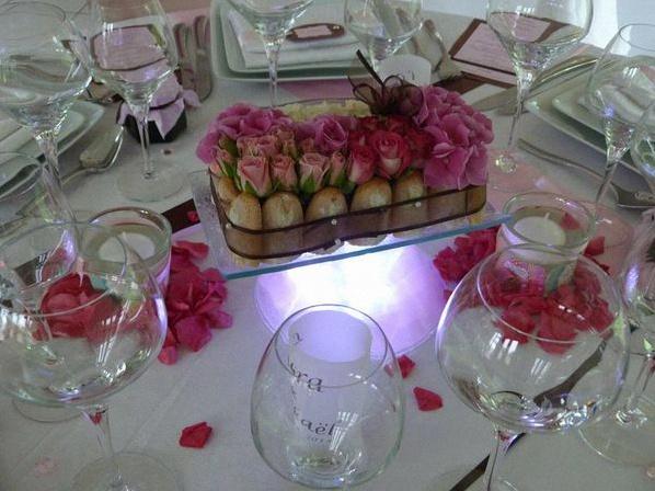 d coration mariage gourmandise chic id es et d 39 inspiration sur le mariage. Black Bedroom Furniture Sets. Home Design Ideas