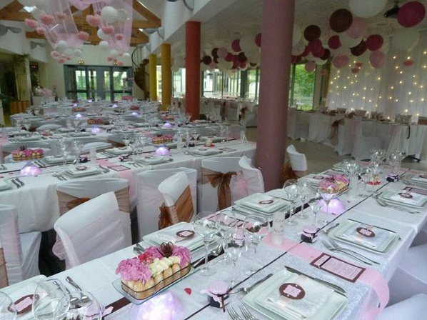 Theme mariage gourmandise chic - Deco table gourmandise ...