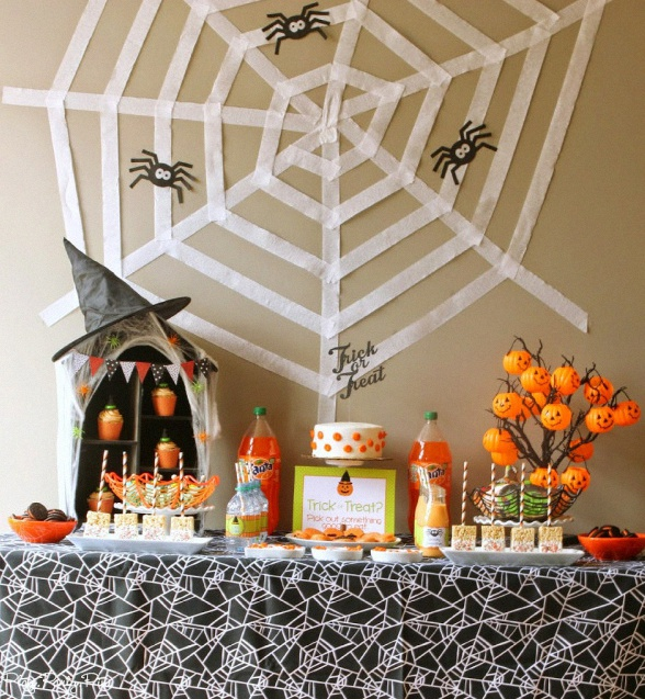 id es d co 10 sweet tables originales et tendances pour halloween. Black Bedroom Furniture Sets. Home Design Ideas