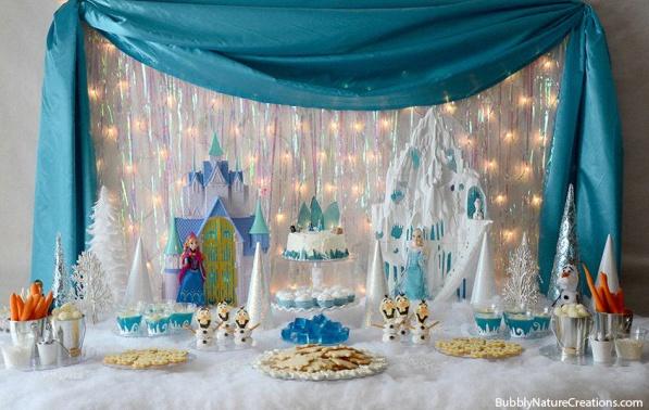 les 10 plus belles sweet table d anniversaire sur le th me la reine des neiges sweet table reine. Black Bedroom Furniture Sets. Home Design Ideas