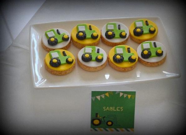 Deco gateau tracteur - Jeux de decoration de gateau ...