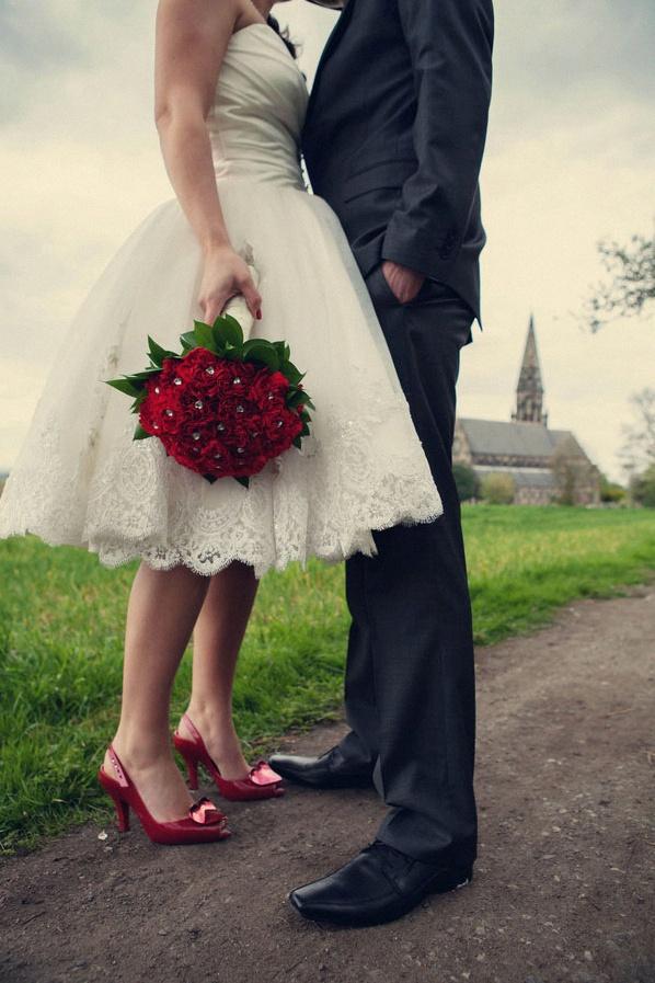 Robe pour mariage retro