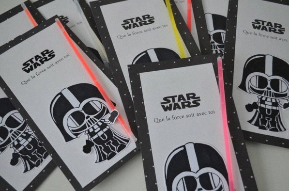 Le 8e Anniversaire Du Jedi Justin Sur Le Theme Star Wars
