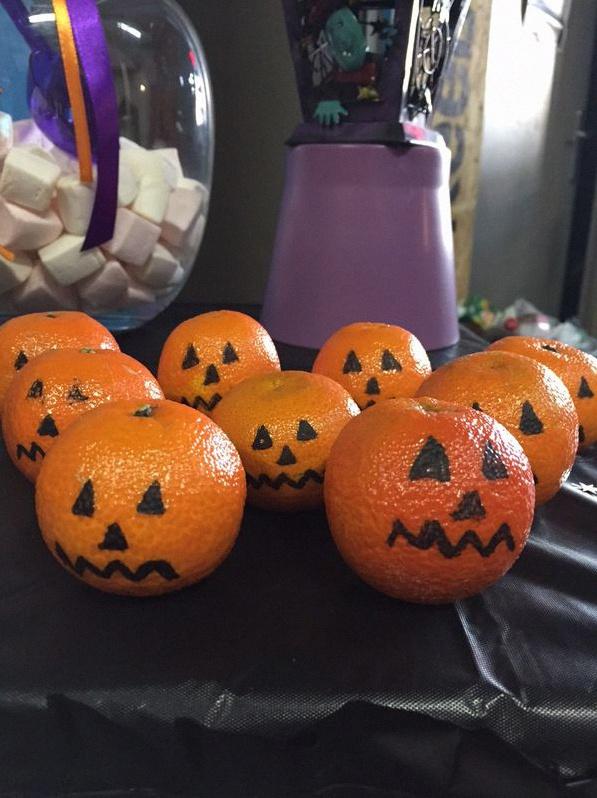 soirée halloween décoration halloween sweet table halloween