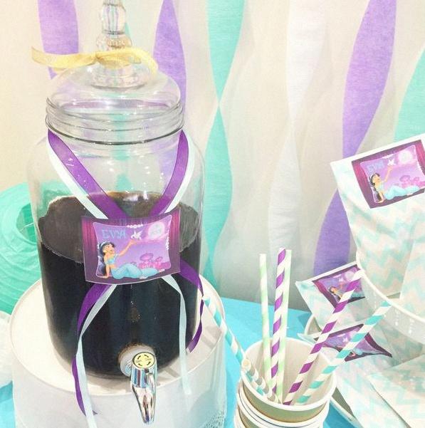 anniversaire jasmine aladin 1001 nuits