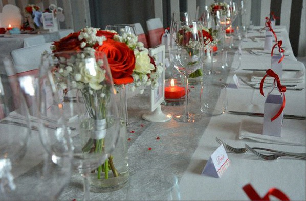decoration table mariage theme italie