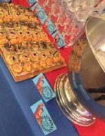 buffet soirée super héros