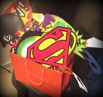 décoration soirée super héros