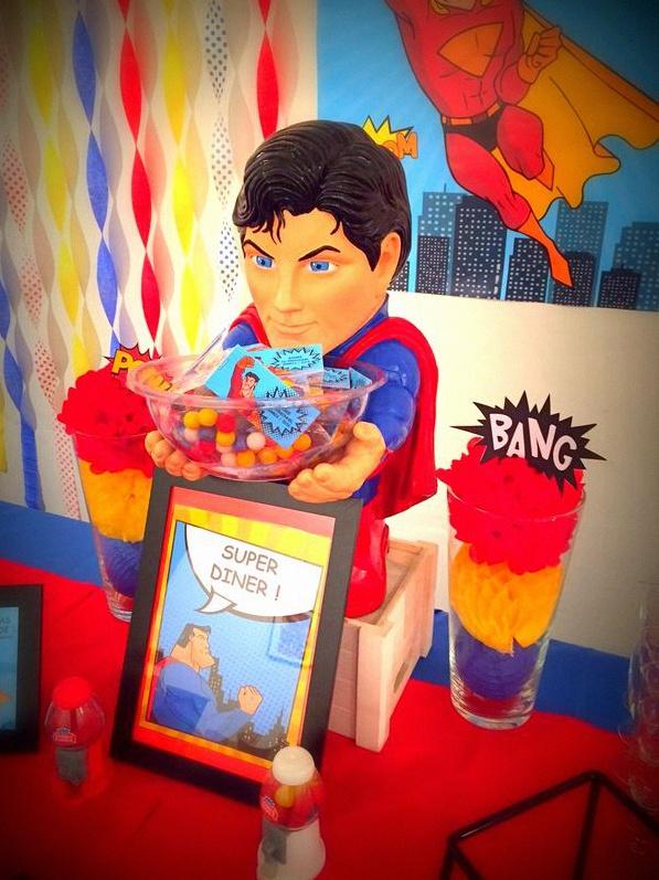 buffet super héros