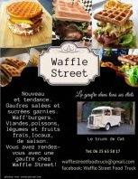 WAFFLE STREET food truck gaufres