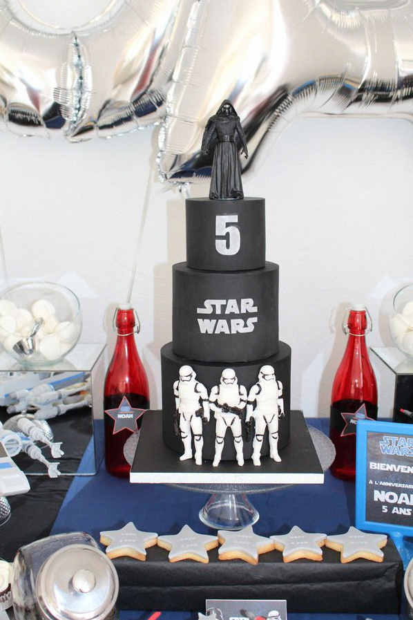 comment organiser un anniversaire star wars les 5 ans du. Black Bedroom Furniture Sets. Home Design Ideas