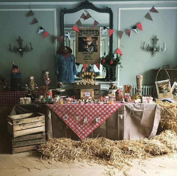l 39 anniversaire de cowboy de thimoth e dans son ranch. Black Bedroom Furniture Sets. Home Design Ideas