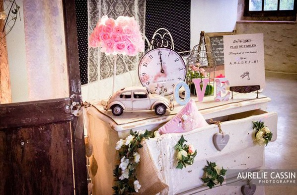 décoration vintage shabby chic