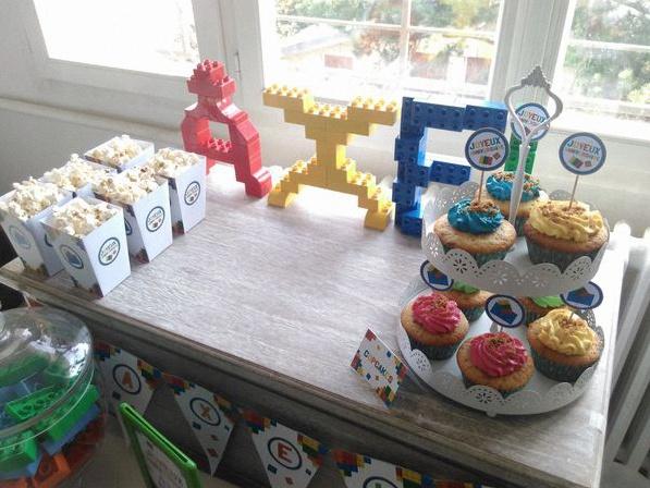 décoration anniversaire lego