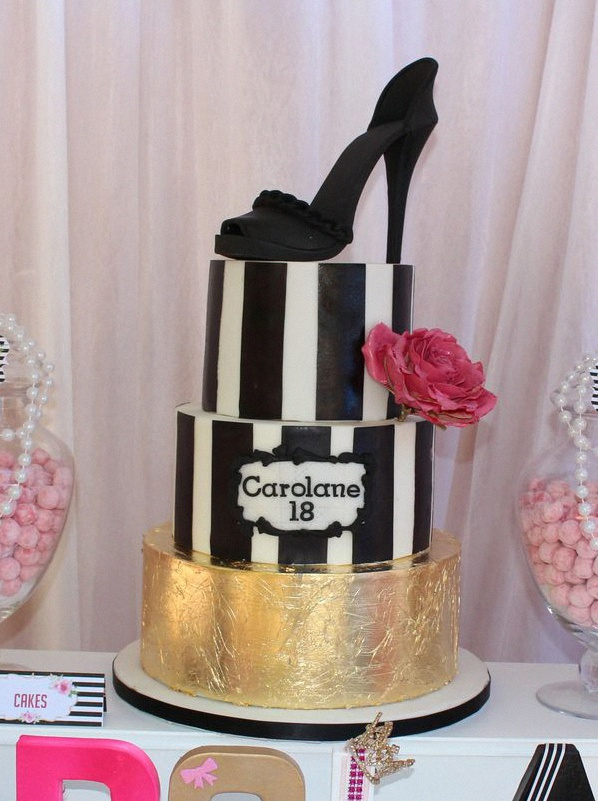 anniversaire luxe glamour chanel