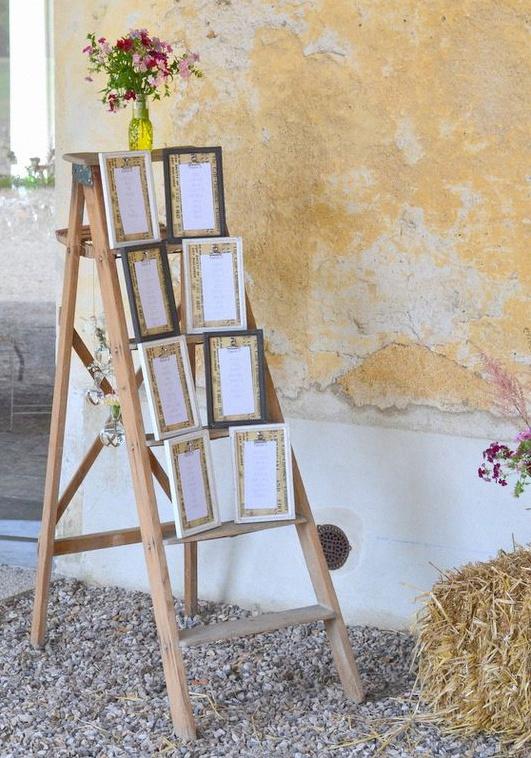 décoration champêtre rustique chic