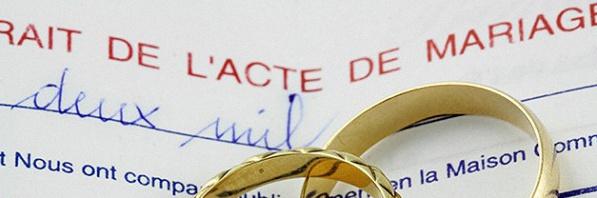 extrait dacte de mariage - Demande Acte De Mariage Nante