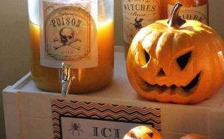 Comment réaliser un buffet ou sweet table d'Halloween facile et pas cher ?