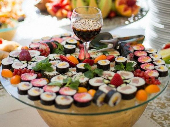 animation culinaire cocktail sushi