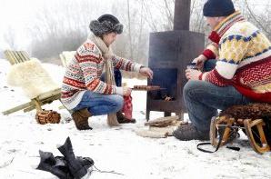 barbecue d'hiver