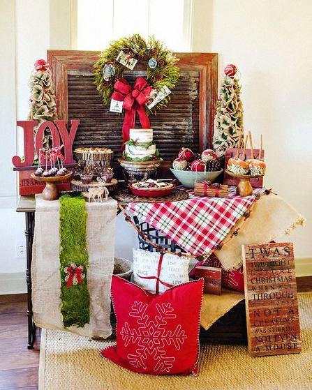 déco noel sweet table noel