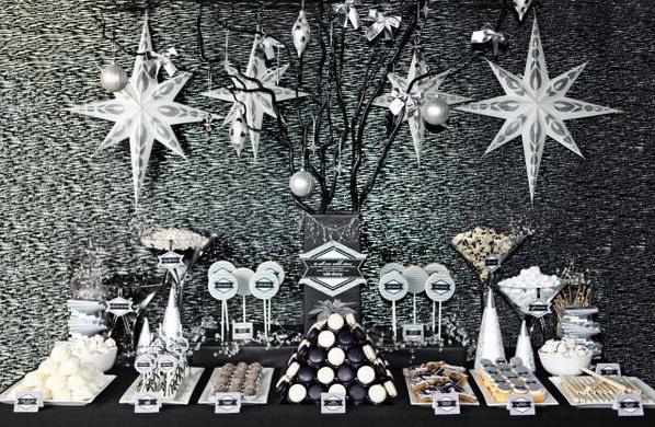 décoration saint sylvestre