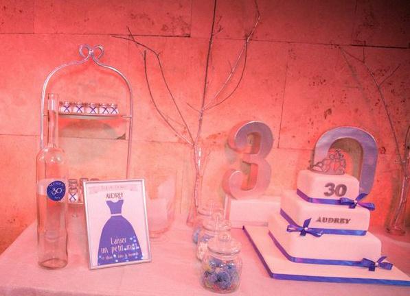 sweet table anniversaire 30 ans 30e anniversaire