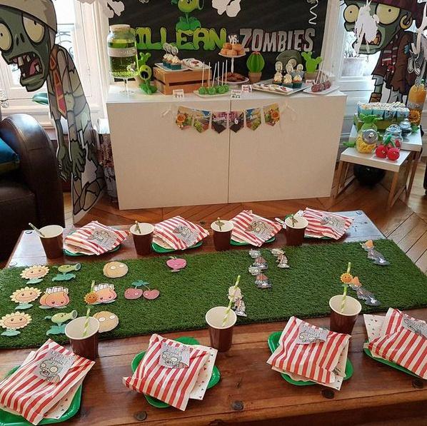 Anniversaire Jeux Vidéo My Fair Party