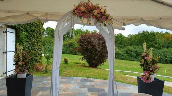 mariage champêtre décoration champêtre cérémonie laïque
