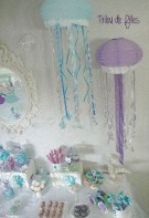 anniversaire sirène décoration sirène sweet table sirène