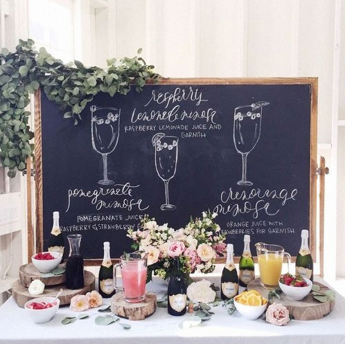 bar à boissons mariage