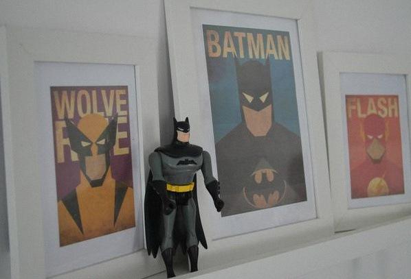 anniversaire super héros avengers batman superman