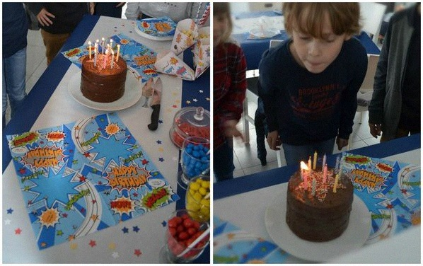 anniversaire super héros avengers batman superman