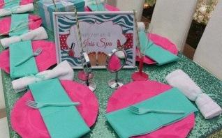 Une Spa Party pour l'anniversaire d'Iris : glamour, soins et paillettes