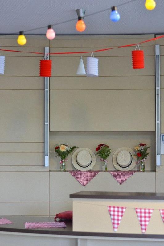 anniversaire guinguette décoration guinguette