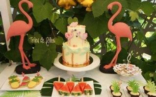 Flamingo Party : un anniversaire tropical avec des flamants roses