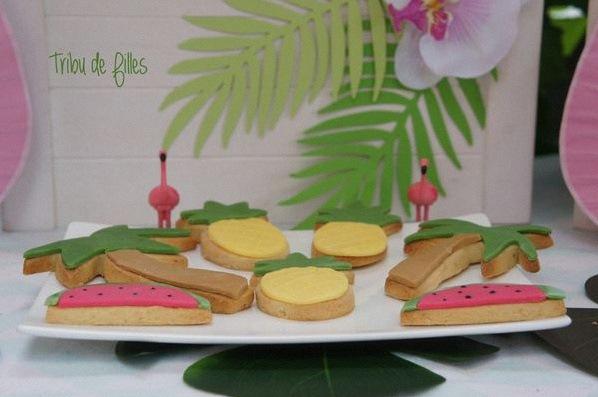 anniversaire flamant rose décoration flamingo tropical party