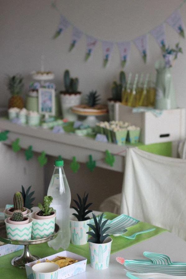 cactus party décoration cactus
