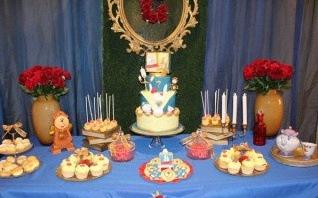 L'anniversaire «La Belle et la Bête» de Chloé : chic et féerique